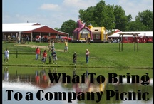 Company Picnic Party Tips / by Faulkner's Ranch Events