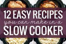 Crock Pots & Slow Cookers / Find easy crockpot recipes including slow cooker beef recipes, slow cooker chicken recipes, slow cooker soup recipes, slow cooker chili recipes and more... pretty much crock pot heaven!