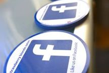 Facebook Stickers for Business / Here's a list of Stickers and similar marketing materials that have your custom Facebook Information placed on them thanks to http://FollowMeSticker.com