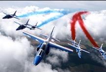 Aviation - Aeronautic - Planes - Avions / Airbus, Patrouille de France , etc...