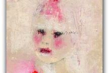 Primitive portraits inspiration