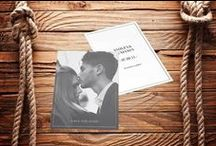 Save The Date Cards / Why not use your engagement photos to make a save the date to send to your friends!?