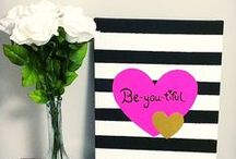 Valentine's Day / Love is in the air! Find Valentine's Day ideas to show the ones you love that you're thinking about them :)