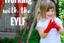 Working with the EYLF / A collection of programming, documentation,environment and activity ideas to support quality early childhood care, play and learning while following the Australian Early Years Learning Framework (EYLF)