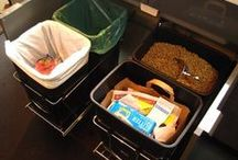 Recycling in a Small Apartment or Home / Here are some tips and products that we've found that work well for recycling in small homes or apartments. / by Ramsey Recycles