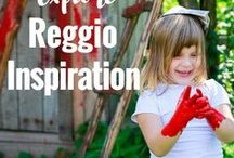 Reggio Inspiration /  Play ideas, provocations, teaching and environments based on Reggio practices