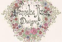 Jennelise Rose Artwork / by Beth Jones