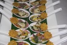 Servicio de alimentos nacional e internacional. / Banquetes con alimentos y bebidas de nivel  nacional e internacional.
