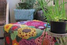 Knitting and crochet