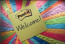 SCOTCH and POST-IT BRAND / Conoscete i Post-it? Questi magici notes riposizionabili che potete trovare in mille forme e colori! Servono per scrivere i propri appunti, ma non solo. Scoprite in questa bacheca gli usi che potete fare con i post-it e tutti i prodotti a marchio Scotch.