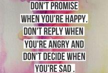 Perfect sayings