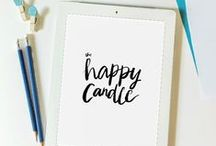 The Happy Candle | My Work / All Photos + Posts + Lettering from The Happy Candle