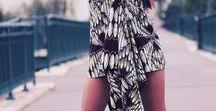 Tènann styliste Amélia Gomes / Création en wax et tissu européen