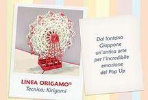 """ORIGAMO - Tecnica Kirigamo / I biglietti Origamo® sono delle piccole sculture di carta ripiegabili.  Sono creazioni artigianali realizzate a mano che, ispirandosi all'antica arte dell'Origami Giapponese, stupiscono chiunque per la loro originalità, precisione nei particolari e tecnica nel ripiegarsi e """"sbocciare"""" alla riapertura. #origamo"""