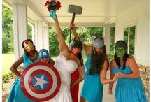 Marvel wedding