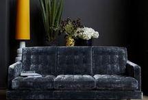 Interior : hosting / Living room, kitchen, dining