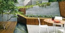Landscape design / Garden, terrace, patio