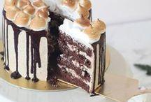 FOOD || Baking - large cakes