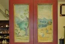 Decorated doors