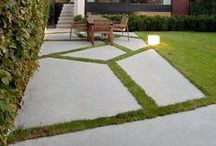 Contemporary Gardens / Modern and contemporary gardens, be it formal or informal, minimalistic gardens or puristic gardens.