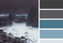 Colour Schemes  / My favorite colour combinations, contrasting or harmonious but always restrained
