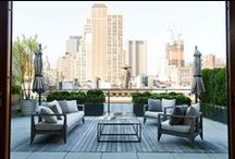 Roof Top Garden / Exposed with gorgeous views