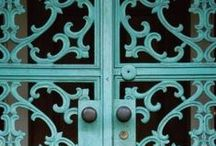 AQUA & TURQUOISE / CALMING COLOR / by IIⓢS♥y ♕§♕♥♥♥