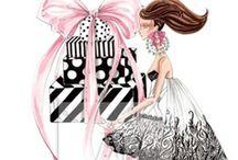 Fashion Illustrations / by Kimberly Joy