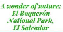 El Boquerón National Park, El Salvador / Come on an adventure at one of El Salvador's great National parks and a wonder of nature :)