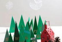 Calendriers de l'avent [Diy] / Advent Calendar Printable, christmas calendar. Calendrier de l'avent à imprimer ou à faire pour Noël