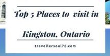 Top 5 Places to visit in Kingston, Ontario / Located between Toronto and Montreal, this small yet charming and historic city has lots to offer to visitors and locals. Come on a photography tour!