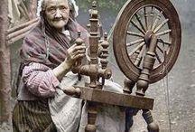 au temps jadis / personnages, objets et décors d'un passé pas si lointain / by Christiane Delbois