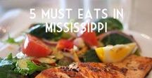 5 must eats in Mississippi / Hungry? Find out which are some of the most popular dishes in this state!  Foodies, feast your senses :)