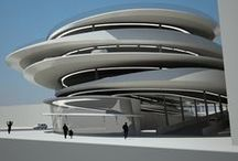 Architecture / Contemporary and futuristisc architecture, marvelous buildings, imaginary planes.