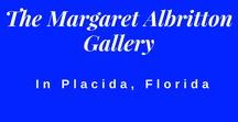 The Margaret Albritton Gallery / Located in Placida, Florida, this colorful art gallery will be a feast for the senses. Come by and take a look inside :)