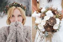Winter Weddings / Wrap up warm for your winter weddings!