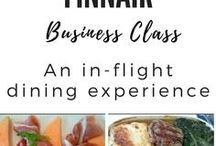 Finnair Business Class: An in flight dining experience / What is the food like on board Finland's national carrier? Come take a look at the culinary creations served in Business class.