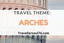 Travel Theme: Arches / Arches, they give buildings character and add more beauty to the structure.  Come see some of the most beautiful arches from around the world!