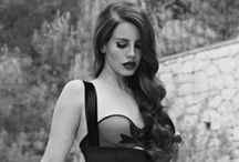 Lana del Rey / My favourite Artist. Her lyrics - they give me everything what I need. Always. No matter what.