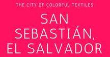 San Sebastian, El Salvador / Go on a photography tour of textile weaving in this lovely city in El Salvador