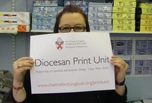 HELLO! / Diocesan Print Unit specialise in meeting all the printing needs of our parishes. Based at the Diocesan Office in Chelmsford, we are committed to providing an efficient and friendly service. For further information and a quotation, please telephone: 01245 294404 or e-mail: printunit@chelmsford.anglican.org