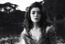 Lorde / Adore her music.