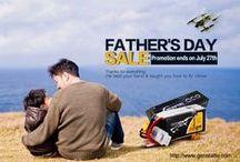 Father's day promo sale / Tattu and Gens ace Father's day promo sale for you. Save up to $30  Up to 64%OFF Free Gift Buy rc hobby lipo & FPV uav lipo Pls click here to shop http://www.genstattu.com