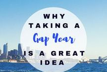 Why Taking a Gap Year Is a Great Idea / Have you ever wanted to take a Gap Year before continuing your studies to explore the world or work in order to earn funds to travel or to continue your education? I share my experience and the valuable life lessons learned :)