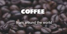 Coffee from around the world / Coffee is a drink that warms your heart and is an energy booster!  Here's a collection of 50+ images of the Drink of the Gods!