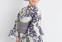 Kimono and extras / Japán viselet és kellékei