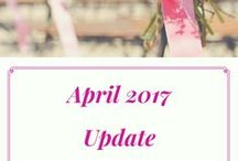 April Update / Latest information about what's happening on my side