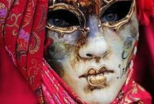 Carnival in Venice / Innovative carnival masks from the beautiful city of Venice, Italy