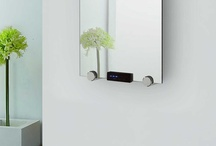 Electric Radiators / A collection of electric glass radiators