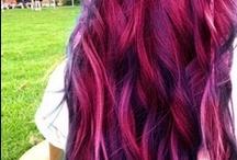 Dyed hair.!